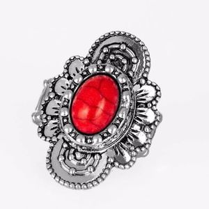 Free with Bundle Basic Element Ring Red